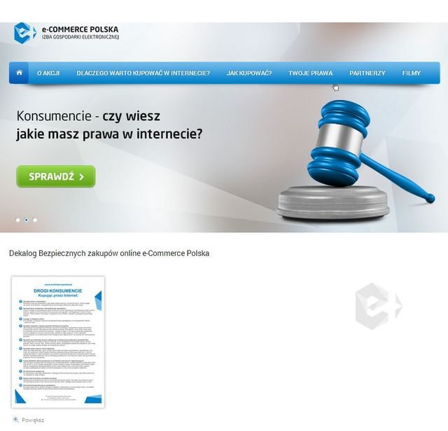 Screen strony www.kupujewinternecie.info.pl