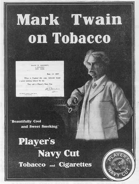 papierosy Marka Twaina