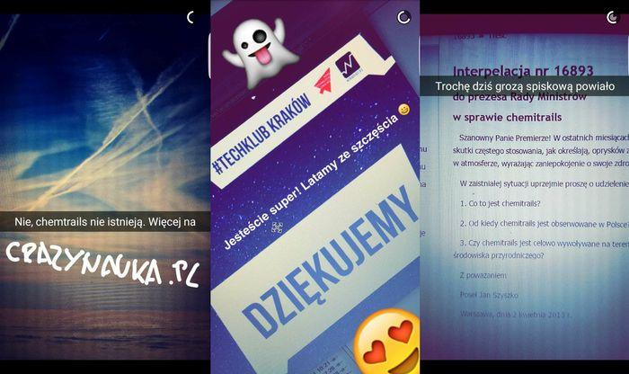 Snapchat bloga Crazy Nauka (snap: crazynauka)