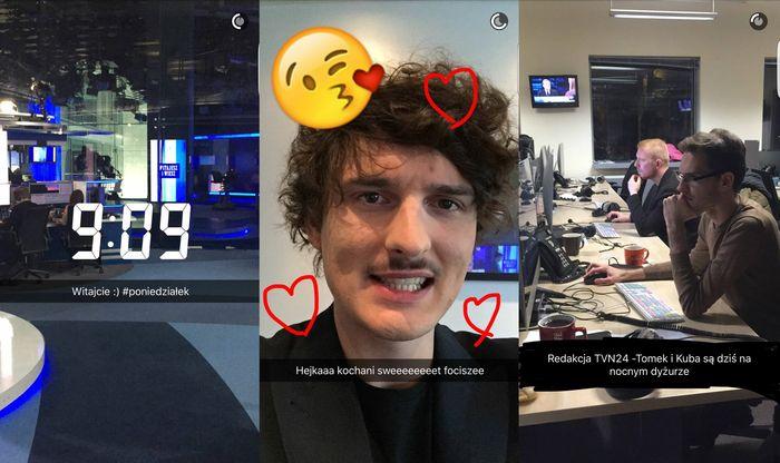 Snapchat TVN24.pl (snap: tvn24.pl)