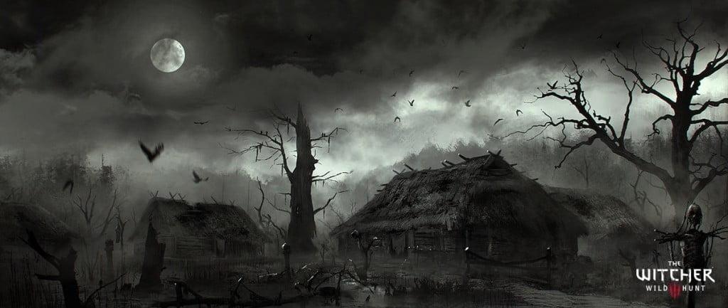 marek-madej-swamp-village-by-marekmadej