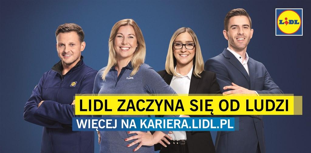 Lidl zaczyna się od ludzi  - kampania employer brandingowa