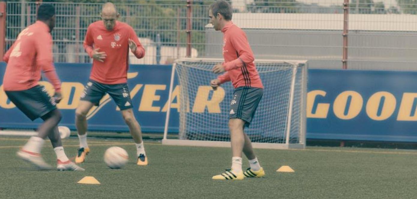 Nowa reklama telewizyjna Goodyear z udziałem zawodników Bayernu Monachium