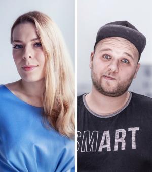 Zofia Smełka i Maciej Robak w Kreacji K2