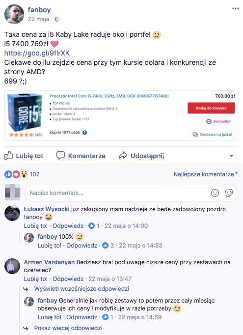 afiliacja na facebook