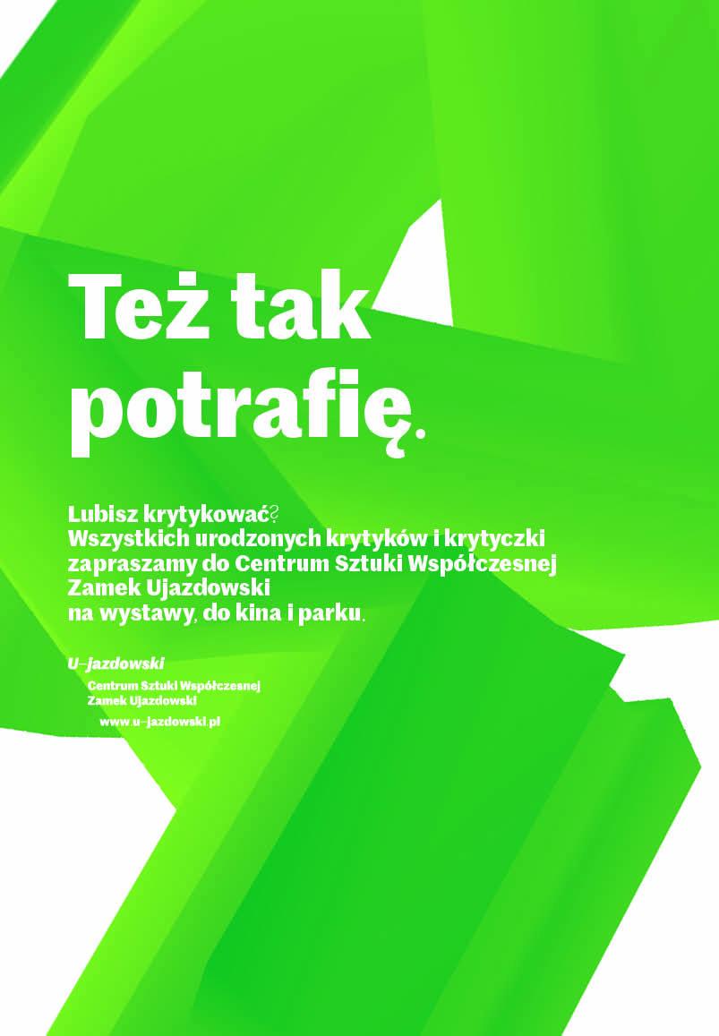 centrum sztuki wspołczesnej zamek ujazdowski