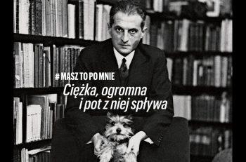 hasło #MaszToPoMnie jest osobiste jak słowa rodziców kierowane do dziecka, podkreśla bliskość wzajemnych, żydowsko-polskich relacji.