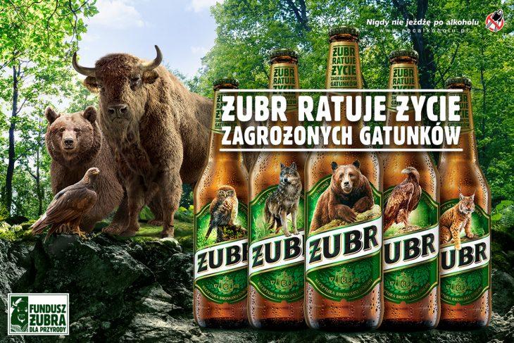 Żubr znika z etykiet i wspiera Białowieski Park Narodowy sprzętem o wartości miliona złotych