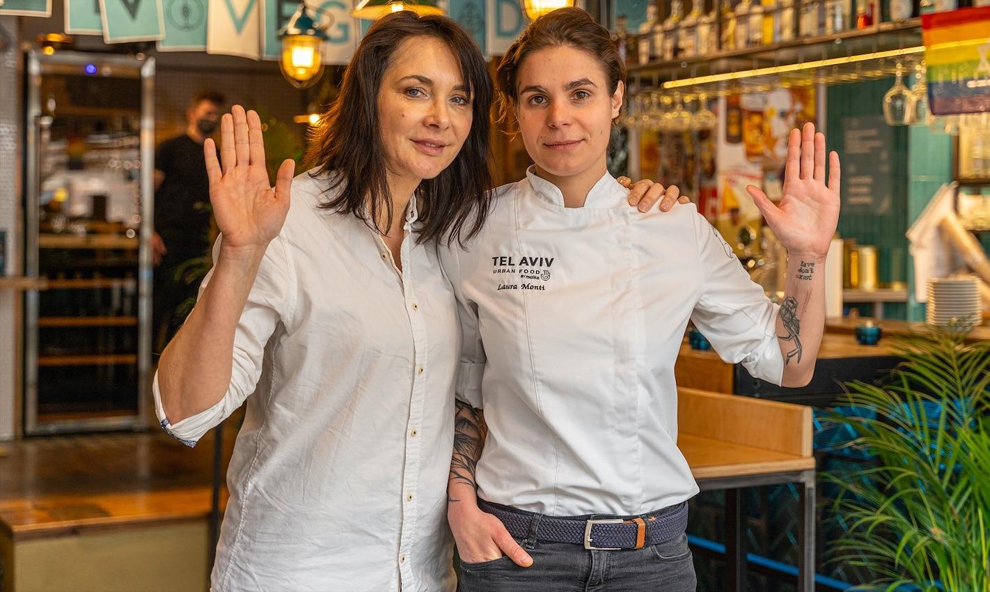 Malka Kafka_właścicielka i Laura Monti_szefowa kuchni - TelAviv Urban Food