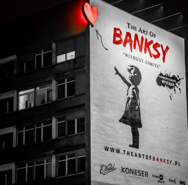 art of banksy