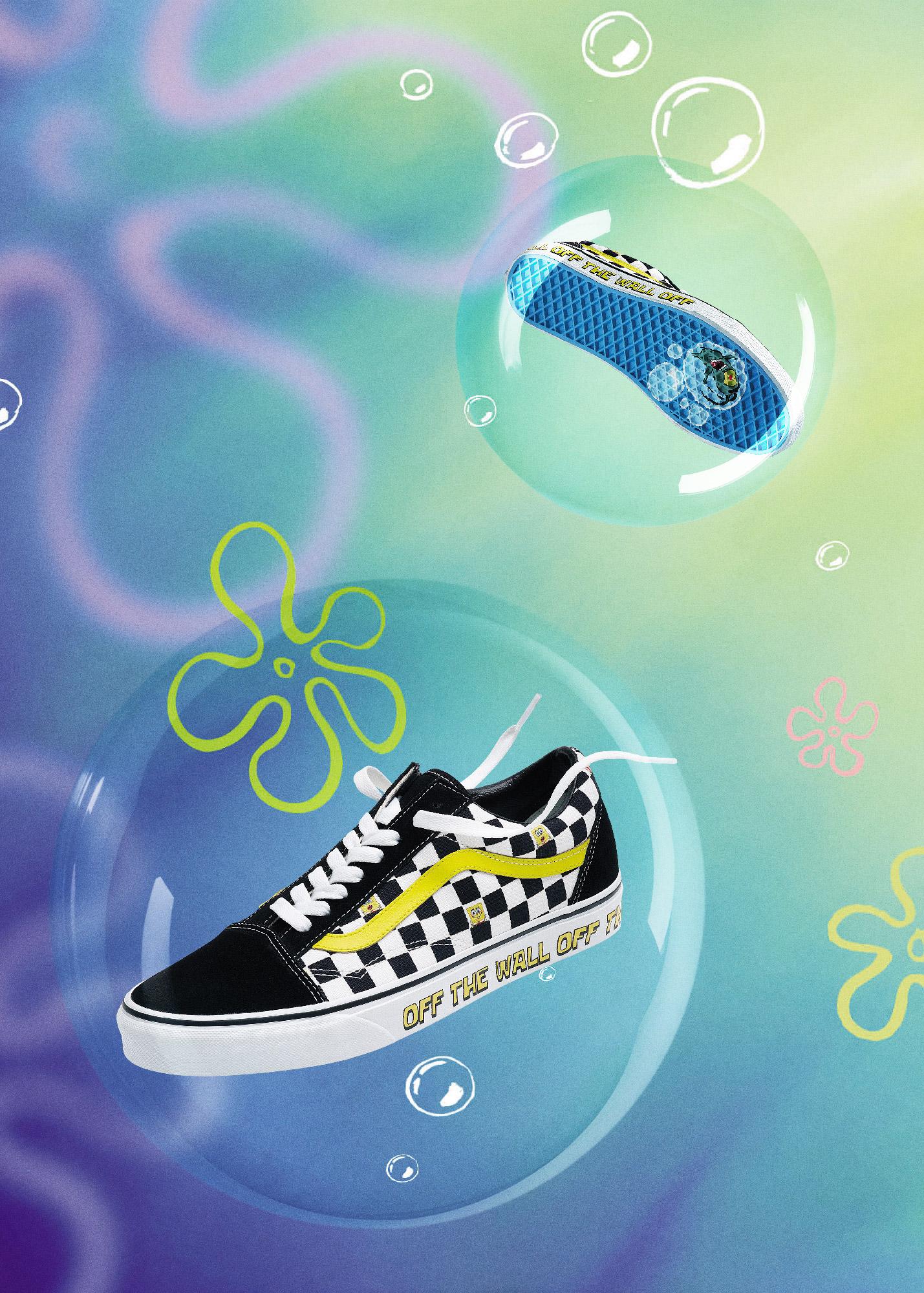 Kolekcja Vans x SpongeBob SquarePants