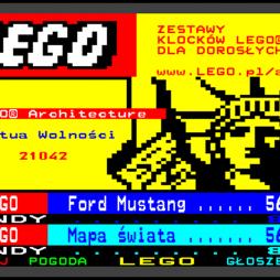 reklama lego w telegazecie